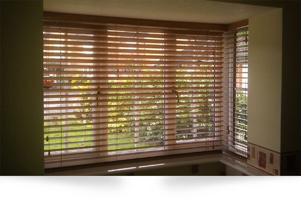 Wooden Venetian Blinds by Blind Inspiration Somerset :: Blinds, Awnings and Wooden Shutters in Wellington, Taunton, Bridgwater, Yeovil and Dorchester, Somerset